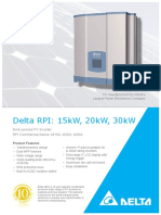 Delta 15 Kw Data Sheet
