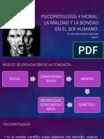 Psicopatología y Moral