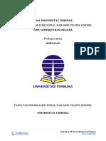 4 - Soal Ujian UT Ilmu Administrasi Negara ADPU4330 Perkoperasian (1)