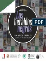 CONVOCATORIA Congreso Los Heraldos Negros