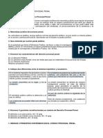 Preguntas de Derecho Procesal Penal 1-50