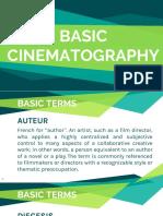 Basic Cinematography