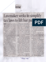 Business Mirror, May 6, 2019, Lawmaker seeks to simplify tax laws to lift bar pass rate.pdf