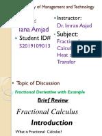 Fractional Derivative (1)
