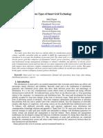 Various types of samrt grid technology - Copy (2).docx