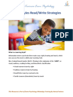 Read Write Strategies