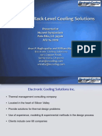 Innovative Rack Cooling Solutions