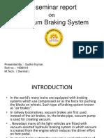 vacuum braking sysem