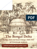 (Cambridge Imperial and Post-Colonial Studies) Iftekhar Iqbal-The Bengal Delta_ Ecology, State and Social Change, 1840-1943-Palgrave Macmillan (2010).pdf