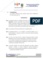 FORMATO DE CONVIVENCIA