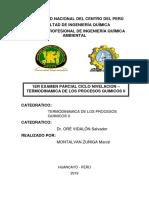 1er Examen Parcial Termoii Montalvan Zuniga Marce
