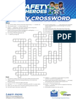 Safety Heroes Crossword