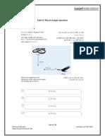 EmSAT Physics College Entry Exam Sample Items English (1)