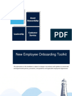 Employee Onboarding toolkit