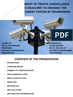 IMPACT ASSESSMENT OF TRAFFIC SURVEILLANCE CAMERAS AND MEASURES TO ENHANCE THE TRAFFIC ENFORCEMENT SYSTEM IN TRIVANDRUM