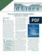 regulação do mercado de terra