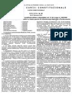 Decizie CCR 90_2019 Neconsitutionalitate Concursuri Penitenciare