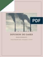 Difusion de Gases Fico 1