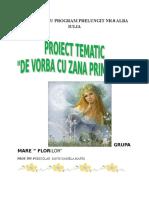Proiect de Vorba Cu Zana Primavara