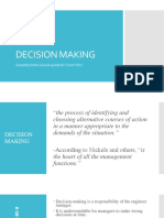 II -Decision Making 2