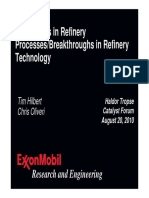 Exxon Mobil New Refinery Trends