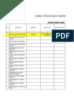 Data Inventaris Ipal Grup 4 2018