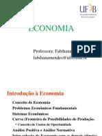 Aulas de Economia Parte I