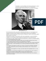 Bertrand Russell Fue Un Gran Matemático y Uno de Los Filósofos Más Influyentes Del Siglo XX
