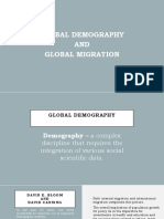 Global Demography and Global Migration