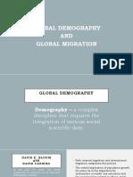 Global Demography and Global Migration