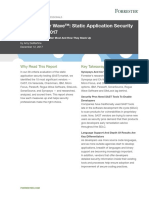 TheForresterWave StaticApplicationSecurityTesting Q4 2017