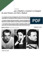 Cuando Lorca Llegó a Madrid