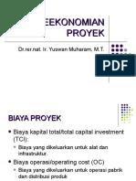 Perancangan Produk - Estimasi Biaya
