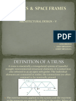 Structure System - Trusses and Space Frames