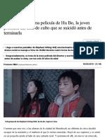 La Primera y Última Película de Hu Bo