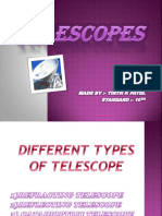 Telescope - Types and Functioning