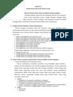 Rangkuman Modul 5-8 Strategi Pembelajaran di SD