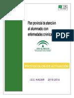 Protocolos de Atencion Al Alumnado Con Enfermedades Cronicas Ies Nazari