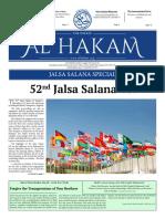 Al Hakam Jalsa Salana Special - 3 August, 2018_0