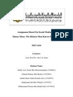 Mansa Musa Summary.