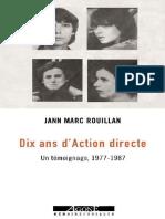 Dix ans d'Action directe_ Un témoignage, 1977-1987 (Mémoires sociales) (Fre.pdf