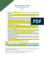 84. Secretary of Defense v. Manalo