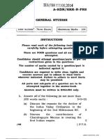 IEcoS General Studies 2014