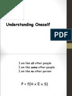 PG - Understanding Oneself