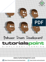 Behavior Driven Development Tutorial