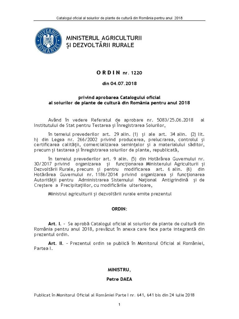 Catalog soiuri 2018 pdf