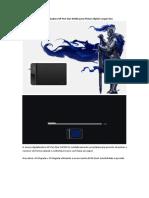 Mesa Digitalizadora XP-Pen Star G430S Para Jogar Osu