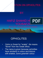 Ophiolets Sequence in Pakistan
