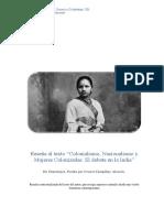 Reseña Contextualizada de Colonialismo en India