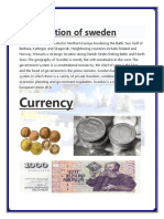 Introduction of Sweden